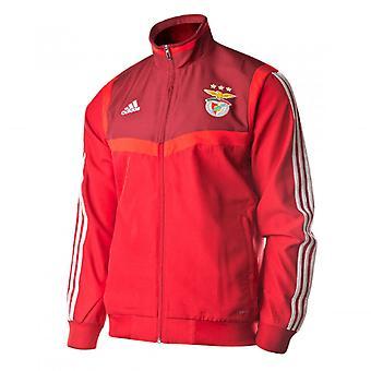 2019-2020 Benfica Adidas presentatie jas (rood)