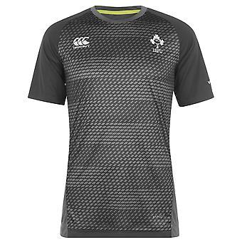 Canterbury Mens Ireland Rugby Graphic Training Top Replica Training T-Shirt Tee