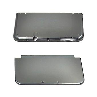 Cover plates for new 3ds xl nintendo (2015) oem top & bottom housing part  - black