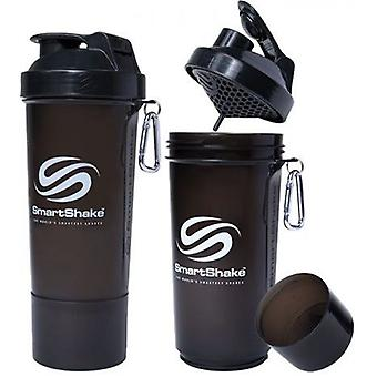 SmartShake Slim Gunsmoke Black 500 ml (Sport , Accesories)