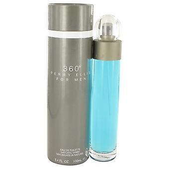Perry ellis 360 eau de toilette spray by perry ellis 400482 100 ml