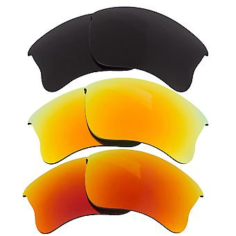 Replacement Lenses for Oakley Half Jacket 2.0 Sunglasses Anti-Scratch Anti-Glare UV400 by SeekOptics