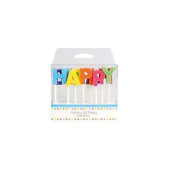 Bougies de joyeux anniversaire de Culpitt