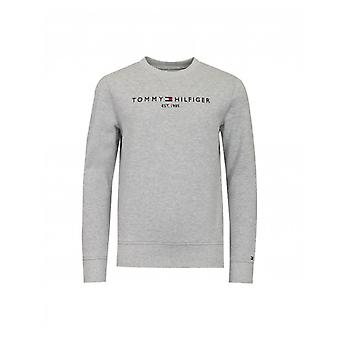 Tommy Hilfiger Logo Front Crew Neck Sweat