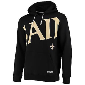 New Orleans Saints BIG GRAPHIC NFL Hoodie noir