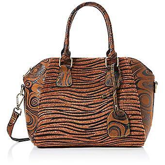 Laura Vita 2989 - Brown Woman Handbag (Braun (Camel)) 15x24x34 cm (B x H T)