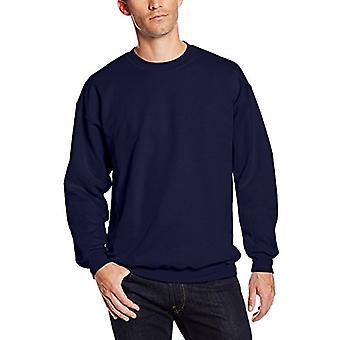 Hanes Men's Ultimate Heavyweight Fleece Sweatshirt, Navy,, Navy, Size X-Large
