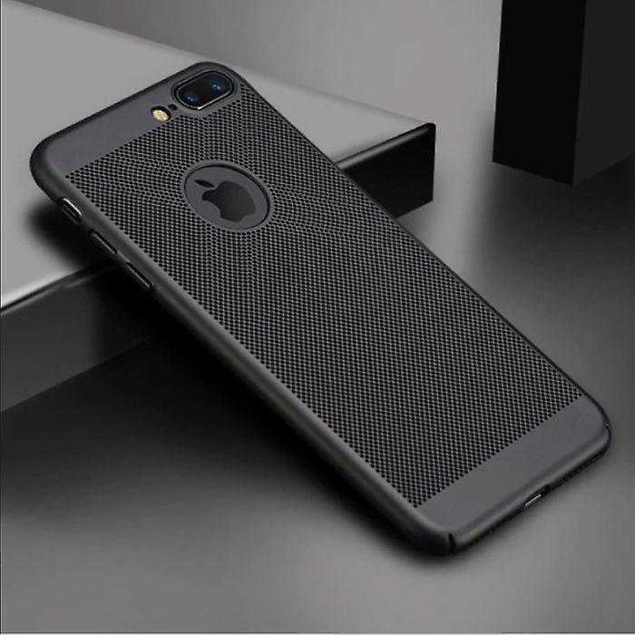Stuff Certified® iPhone 6S - Ultra Slim Case Heat Dissipation Cover Cas Case Black