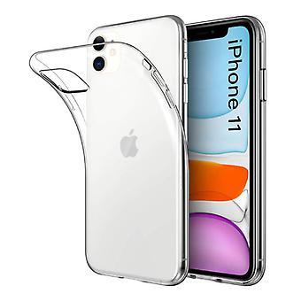 Stuff Certified® Transparent Clear Case Cover Silicone TPU Case iPhone 11