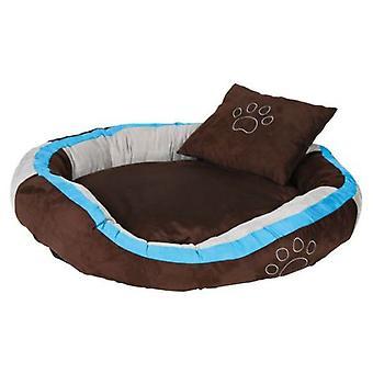 Trixie Bonzo Bed brown/turquoise/grey/ (Psy , Wypoczynek , Wypoczynek)