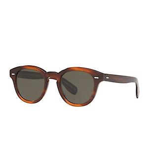Oliver Peoples Cary Grant Grant Tortoise/Green Polarised Sunglasses