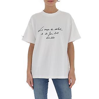 Jacquemus 201js1720555110 Women's White Cotton T-shirt