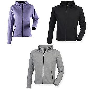 Tombo Teamsport Womens/Ladies Lightweight Running Hoodie With Reflective Tape