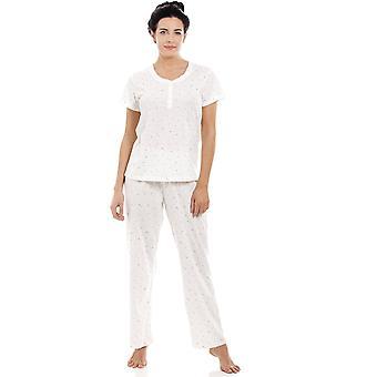Camille White lett Glitter hjertet Pyjama sett