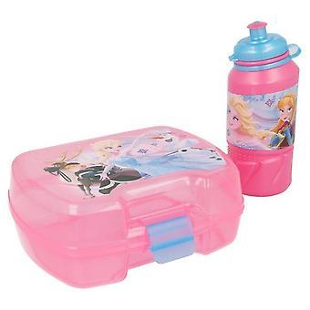 Set Bottle and Portamere Frozen Pink