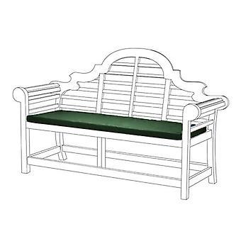 Gardenista Lutyens Garden Banco Cojín Cojín Muebles de Patio de Verano al aire libre 3 Plazas ? Material resistente al agua ? Relleno de espuma gruesa ? Ligero y cómodo (verde)
