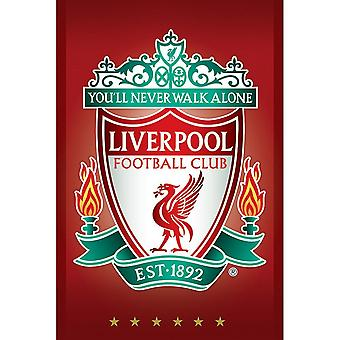 Liverpool FC Complete Crest Poster