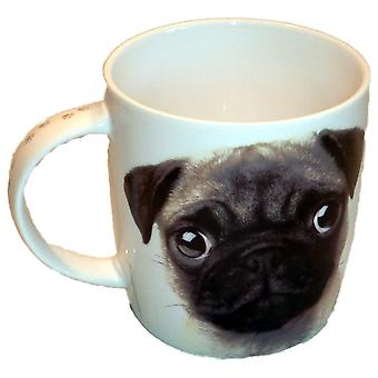 Best Of Breed Mug - Pug - All You Need Is Love and a Pug - Ceramic 400ml - BB187