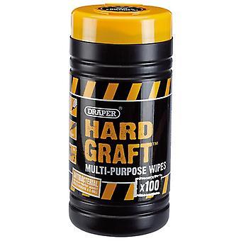 Draper 84711 'Hard Graft' Tücher (Tub von 100)