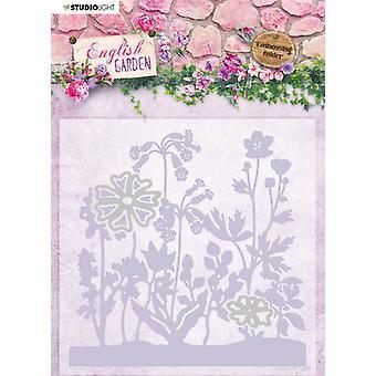 Studio Light Embossing Folder With Die Cut English Garden nr.04 EMBEG04