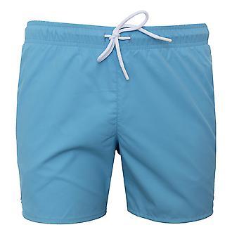 Lacoste men's blue swim shorts
