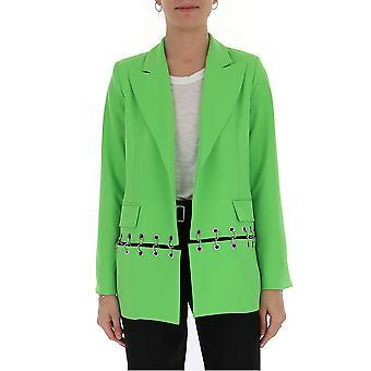 Ireneisgood Igcbl001330 Femmes-apos;s Green Polyester Blazer