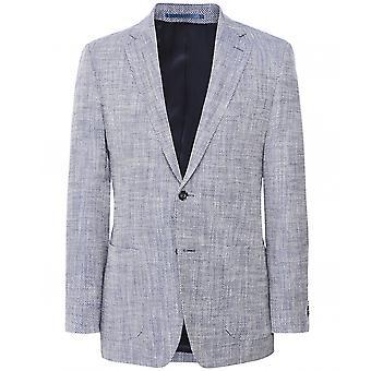 Munro Linen Silk Herringbone Jacket