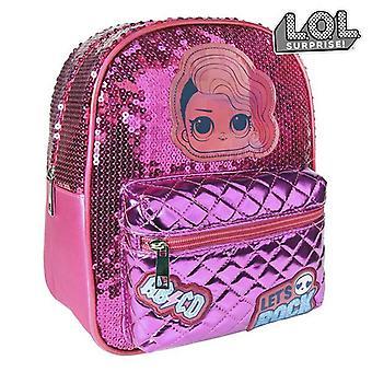 Casual Backpack LOL Sorpresa! 72767 Fucsia