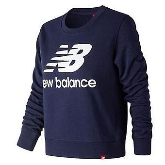 Sweatshirt for kvinner uten hette Ny balanse WT91585PGM Navy blå/XS