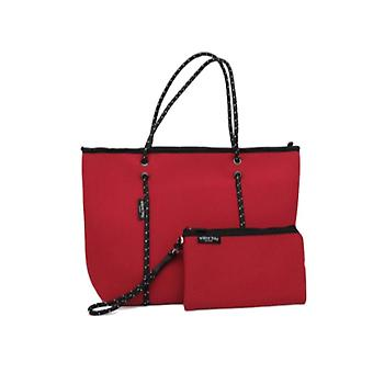 WILLOW BAY AU BOUTIQUE Neopreen Tote Bag - ROOD