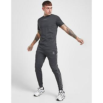 New Gym King Men's Fight Division Joggers Grey