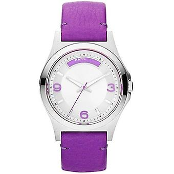 Marc Jacobs MBM1262 Purple Baby Dave Leather Men's Watch