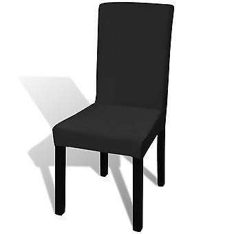 Rakt stretchbart stolskydd (6 st)