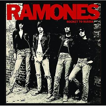 Ramones Coaster Rocket to Russia new Official 9.5cm x 9.5cm single drink