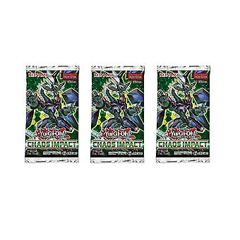 Yu-Gi-Oh! - Chaos Impact - Booster Packs 3-Pack