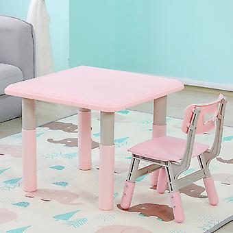 Moni Kindersitzgruppe 18106 Lala, Tisch und Stuhl, ab 3 Jahren, höhenverstellbar