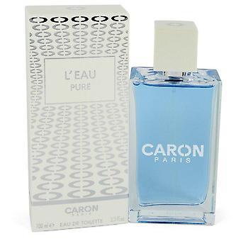 Caron L'eau Pure Eau De Toilette Spray (Unisex) By Caron 3.3 oz Eau De Toilette Spray