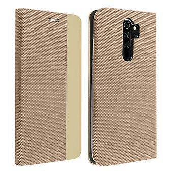 Protective Cover Xiaomi Redmi Note 8 Pro Card Holder Interior Soft-touch Golden