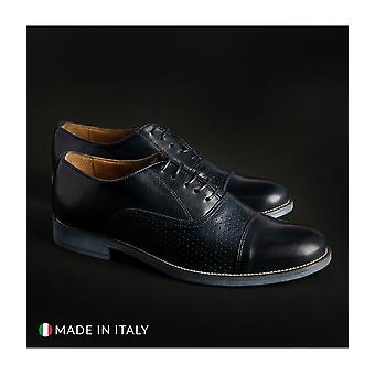 SB 3012 - shoes - lace-up shoes - 1003_CRUST-B_BLU - men - navy - EU 44