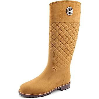 Tommy Hilfiger Women's Babette Luggage Boot 9 M, Luggage, Size 9.0