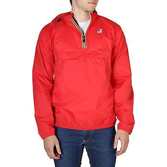 Unisex polyamide long bomber jacket coat kw21399