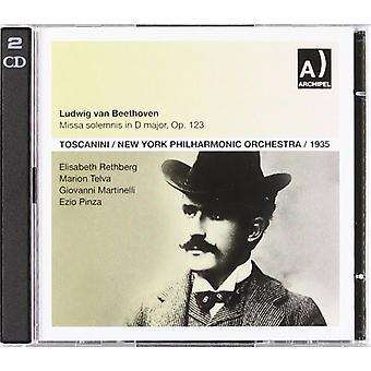 ベートーヴェン/マルティネリ - ミサソレムニス: Rethberg Telva [CD] USA 輸入