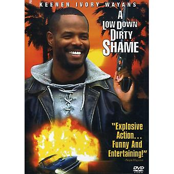 A Low Down Dirty Shame [DVD] USA import