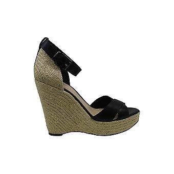 Vince Camuto Womens Maurita Leather Open Toe Casual Platform Sandals