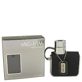 Armaf Tag Him by Armaf Eau De Toilette Spray 3.4 oz / 100 ml (Men)
