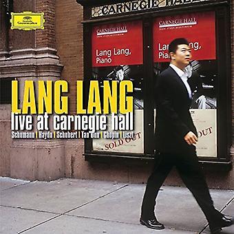 Lang Lang - Live at Carnegie Hal [Vinyl] USA import