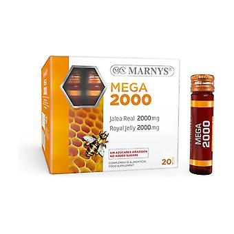 Royal Jelly Mega 20 vials of 2000mg