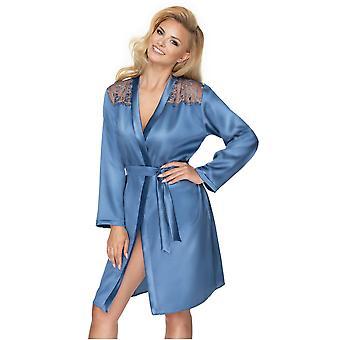 Irall Sapphire Women's Azure Loungewear Robe
