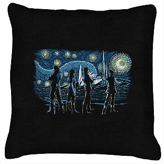 Starry Final Fantasy XV Cushion