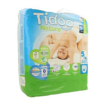 Diapers Size 5 XL (12/25 kg) 22 units (T5 (12-25 kg))